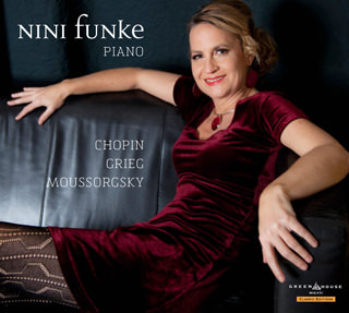CD Cover - Nini Funke - Chopin, Grief, Moussorgsky